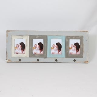 "Link to Vintage Four 5"" x 7"" Collage Picture Frame Similar Items in Decorative Accessories"