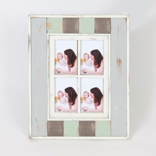 """Vintage Four 4"""" x 6"""" Collage Picture Frame"""