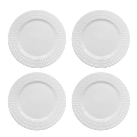 Elle Decor Amelie Set of 4 Dinner Plates