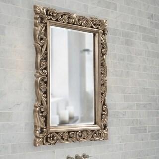Allan Andrews Chateau Mirror - Champagne/Silver