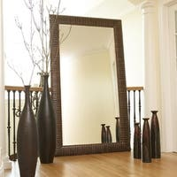 Allan Andrews Alexander Copper Wood Leaner Mirror