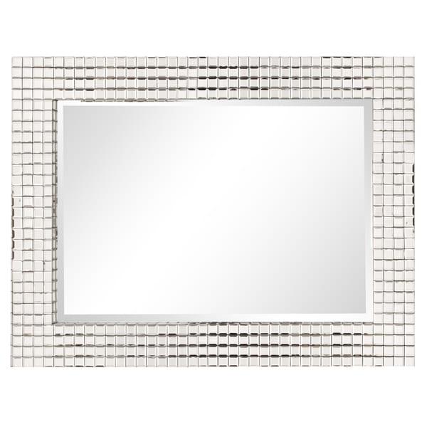Allan Andrews Disco Tiled Contemporary Mirror - A/N