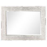 Howard Elliott Allan Andrews Disco Tiled Contemporary Mirror