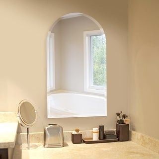 Allan Andrews Frameless Arched Wall Mirror