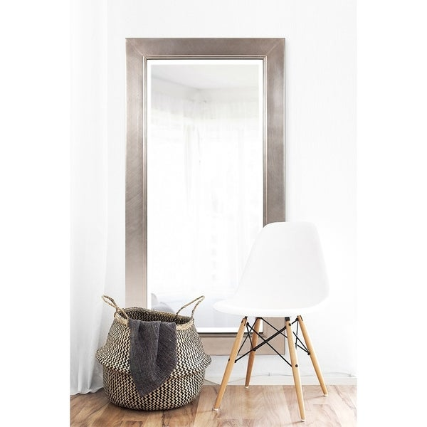 Allan Andrews Millennium Silver Large Mirror - Silver/Champagne - A/N