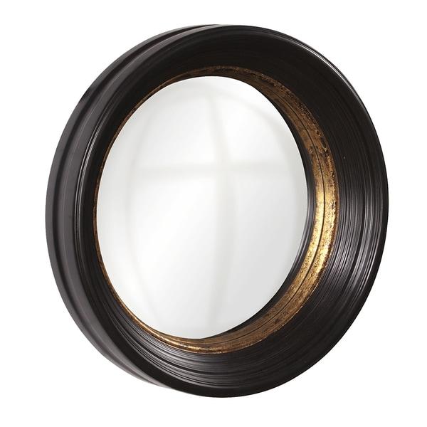 Allan Andrews Rex Convex Accent Mirror - Black/Gold