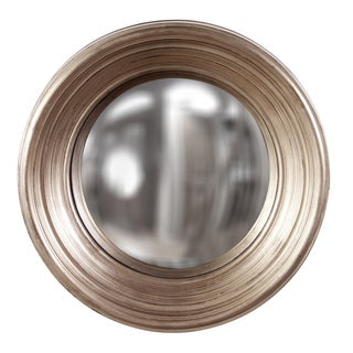Allan Andrews Silas Silver Mirror - Medium