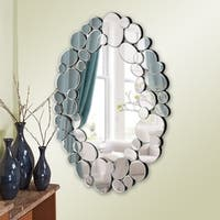 Allan Andrews Stratus Oval Wall Mirror