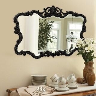 Allan Andrews Talida BlackWall  Mirror - Black