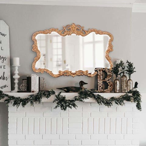 Allan Andrews Talida Gold Wall Mirror