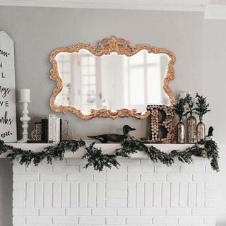 Allan Andrews Talida Gold Wall Mirror