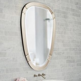 Allan Andrews Tobias Tapered Wall Mirror - Bronze