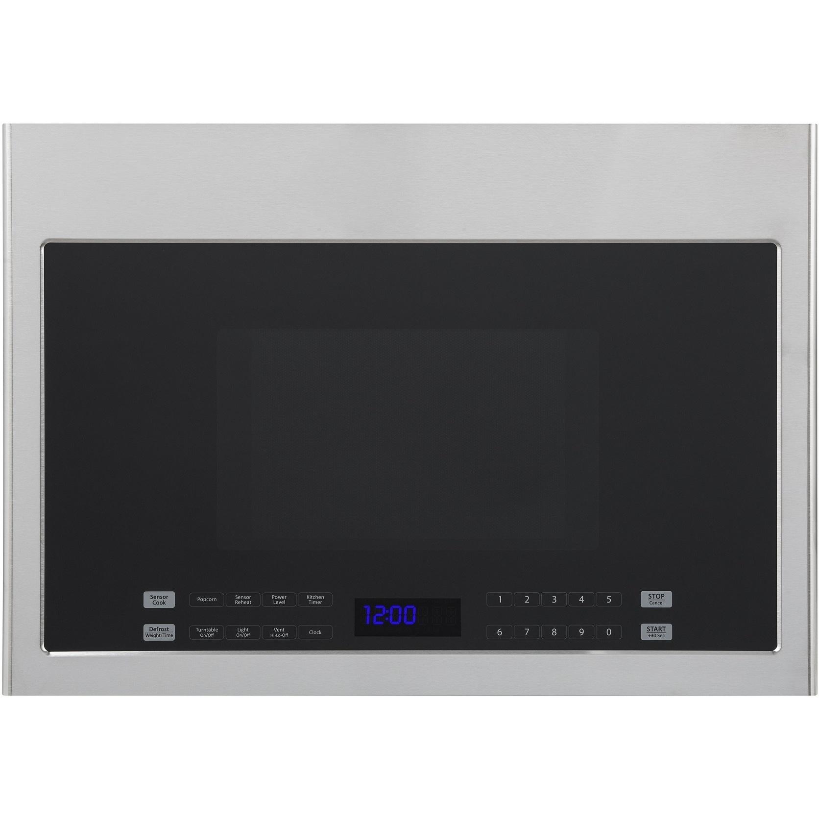 Haier HMV1472BHS 24 Inch Over-the-Range Microwave (Small ...