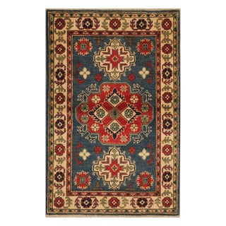 Handmade Kazak Wool Rug (Afghanistan) - 2'7 x 4'7
