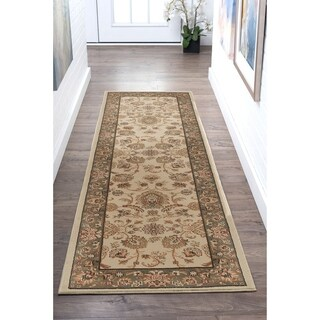 Alise Soho Transitional Border Runner - 2'7 x 10'