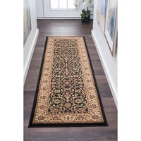 Alise Rugs Soho Traditional Border Runner Rug - 2'3 x 10'