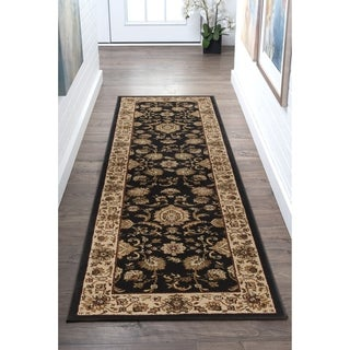 Alise Soho Transitional Border Runner (2'3 x 10')
