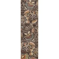 Alise Rugs Caprice Contemporary Abstract Runner Rug - 2'3 x 10'