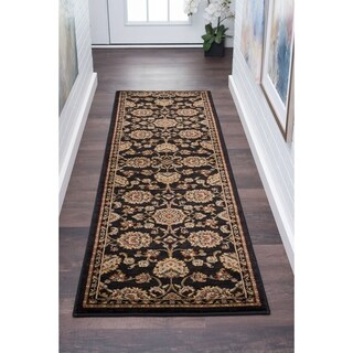 Alise Soho Traditional Border Runner - 2'7 x 10'