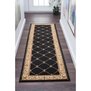 Alise Soho Traditional Border Runner (2'3 x 10')