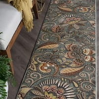 Alise Caprice Contemporary Abstract Runner Rug - 2'3 x 10'