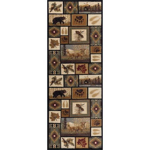 Copper Grove Cibola Novelty Runner Rug - 2'7 x 9'10