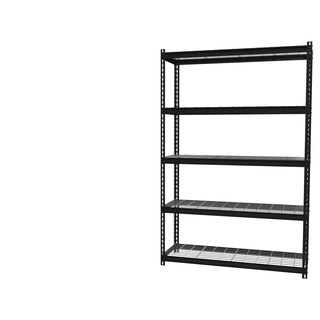 "Iron Horse Wire Shelving Unit, 5 Shelf, 18"" X 48"" X 72"" , Black"