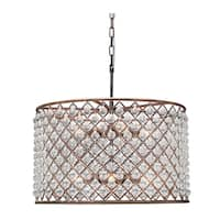 Cassiel Drum Crystal Chandelier