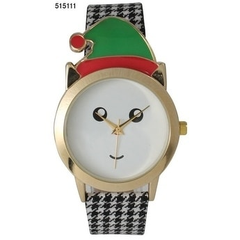 Olivia Pratt Houndstooth Elf Watch