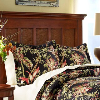 Tommy Bahama Jungle Drive Black King Sham