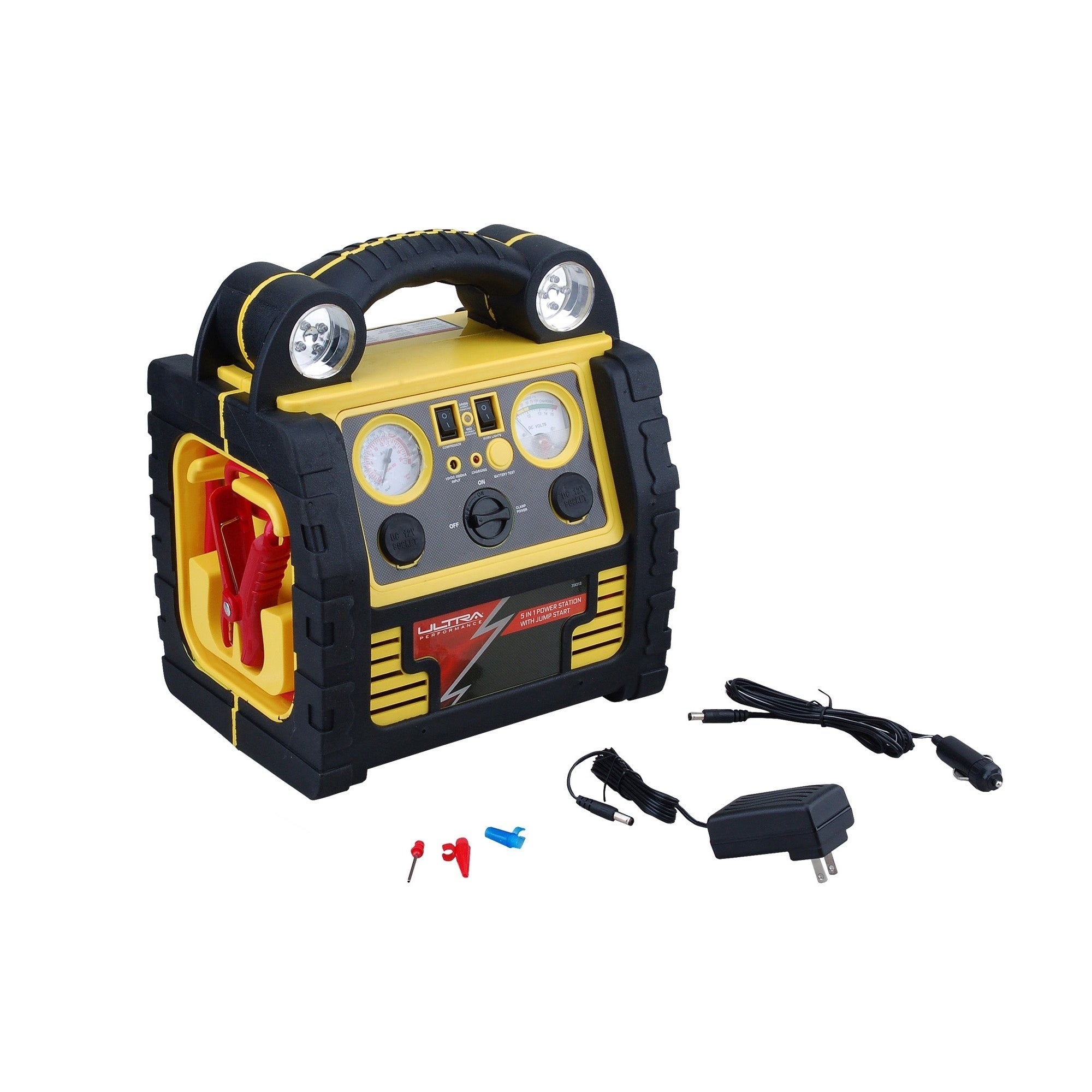 Ultra Performance 5 in 1 Power Station with Jump Start, C...
