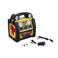 Ultra Performance 5 in 1 Power Station with Jump Start, Compressor, Power Inverter, USB and Flashlight