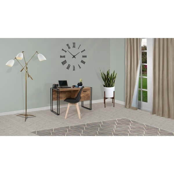 Country Line Writing Desk With Toronto Accent Chair