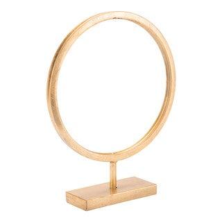 Circle Figurine Sm Gold