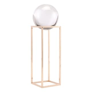 Gold Square Orb Lg Gold - N/A