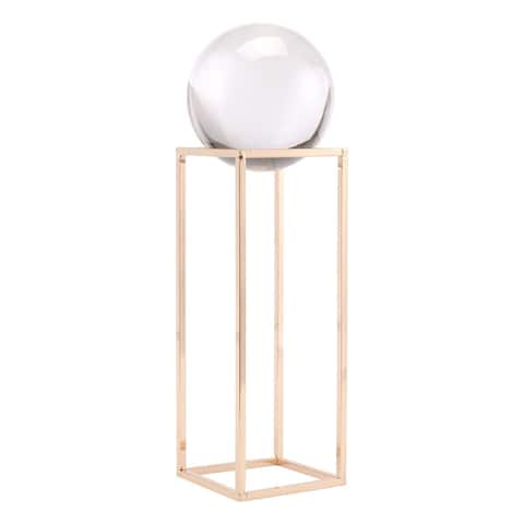 Gold Square Orb Lg Gold