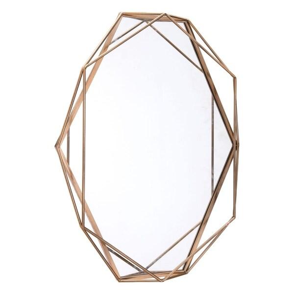 Octagonal Mirror Antique