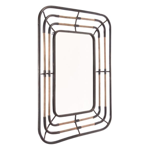 Ramitas Multicolor Steel Mirror