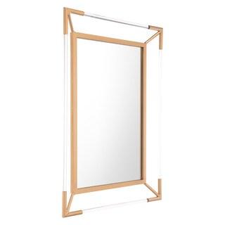 Four Points Antique-finish Steel Mirror