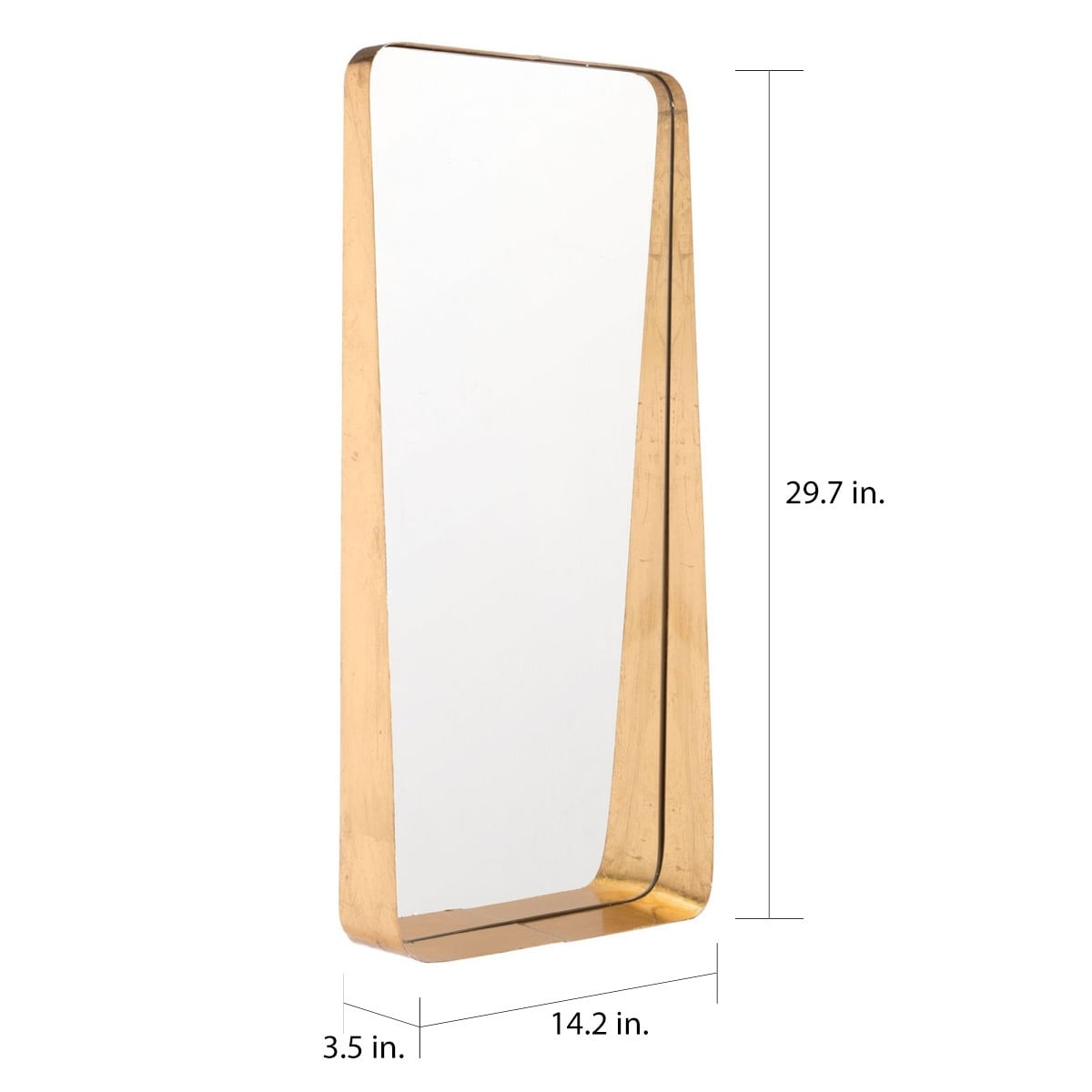 Tall Gold Mirror Gold Overstock 18684765