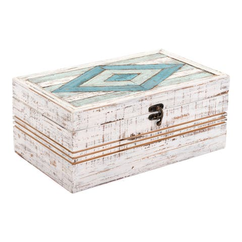 Porch & Den White Rectangular Box