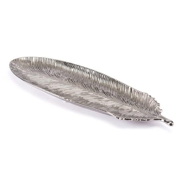 Silver Feather Lg Silver - N/A