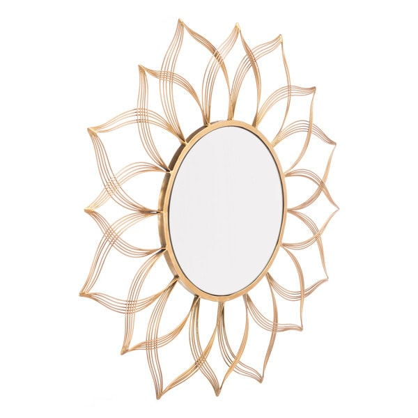 Flower Gold Mirror Gold. Opens flyout.