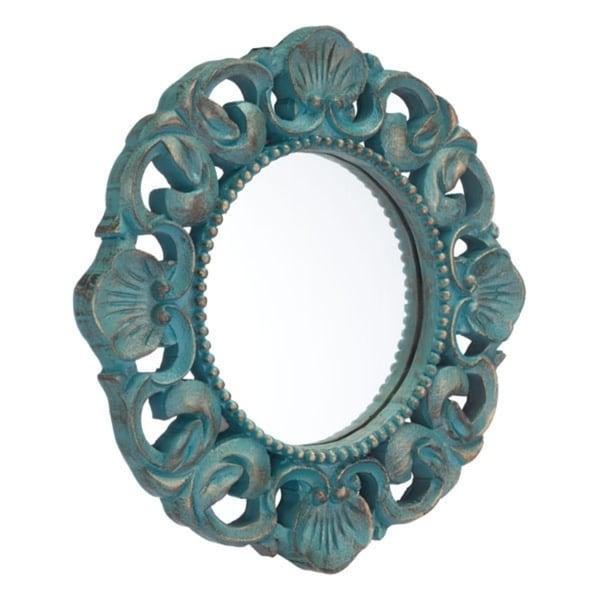 Antique Mirror Antique Blue