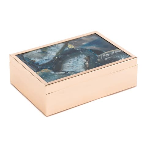 Silver Orchid Heribel Large Blue Box