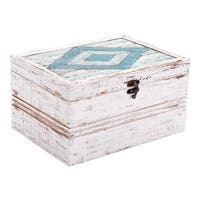 Rombo Antique Box White