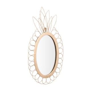 Pineapple Mirror Gold