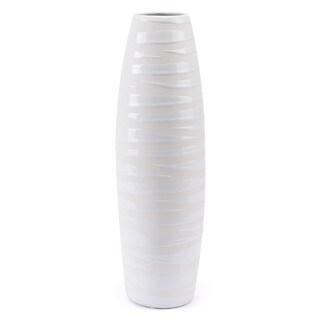 Mol Lg Vase Matte White