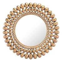 Inha Gold Steel Mirror