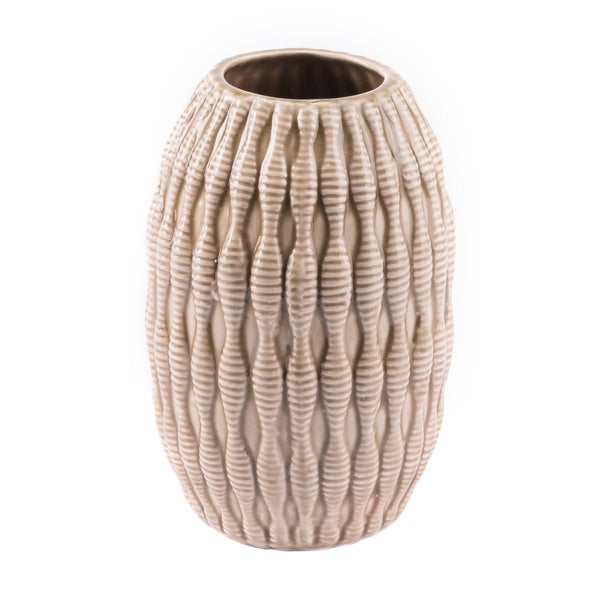 The Curated Nomad Small Taupe Vase